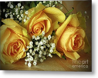 Bouquet Of Sunshine Metal Print by Inspired Nature Photography Fine Art Photography