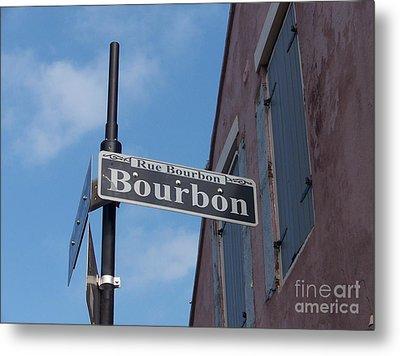 Bourbon Street Metal Print by Kevin Croitz
