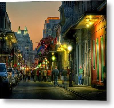 Bourbon Sunset Metal Print