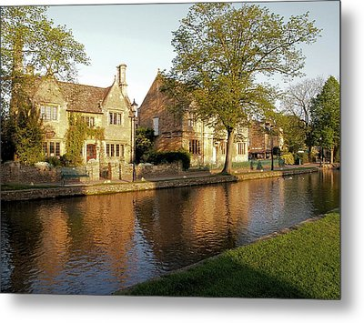 Bourton On The Water Metal Print