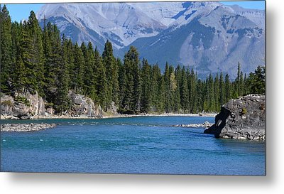Bow River  Metal Print