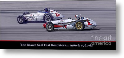 Bowes Seal Fast Roadsters Metal Print