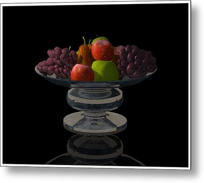 Bowl Of Fruit... Metal Print