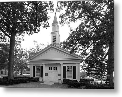 Bowling Green State University Prout Chapel Metal Print by University Icons