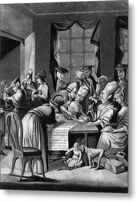 Boycott Of British Tea Metal Print by Granger