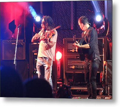 Metal Print featuring the photograph Boyd And Dave by Aaron Martens