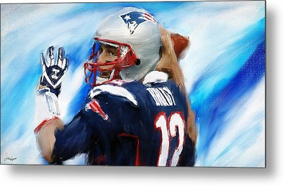 Brady Metal Print by Lourry Legarde