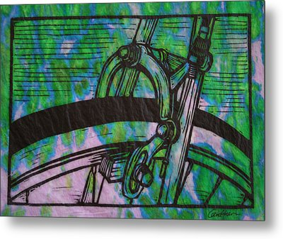 Brake Metal Print by William Cauthern