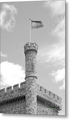 Brandeis University Usen Castle Metal Print by University Icons