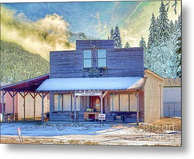 Metal Print featuring the photograph Brauer Real Estate Linwood Kansas by Liane Wright