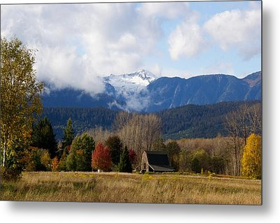 Brauns Island In Autumn Metal Print by Sylvia Hart
