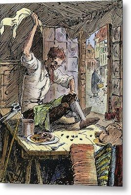 Brave Little Tailor, 1891 Metal Print