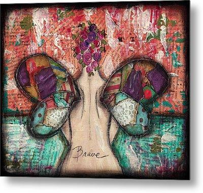 Brave Soul Metal Print by Shawn Petite