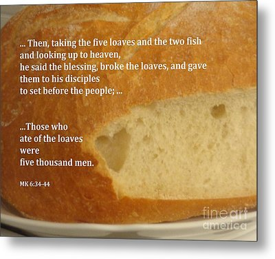 Bread  From The Heart Metal Print