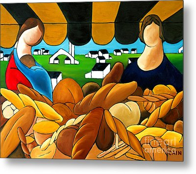 Bread Metal Print by William Cain