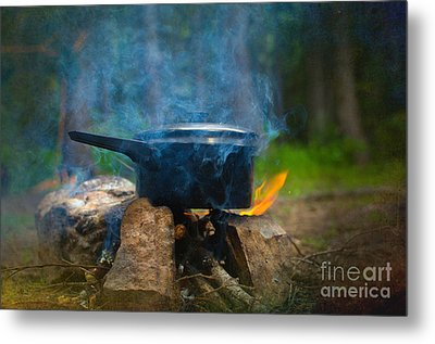 Breakfast Metal Print by The Stone Age
