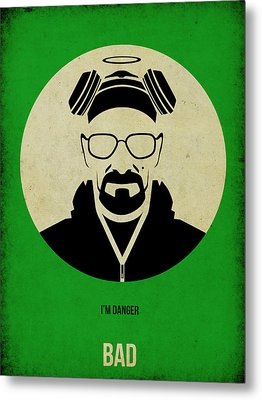 Breaking Bad Poster Metal Print by Naxart Studio