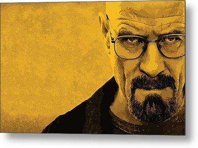 Breaking Bad Metal Print by Gianfranco Weiss