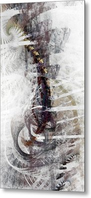 Breaking Bones Metal Print