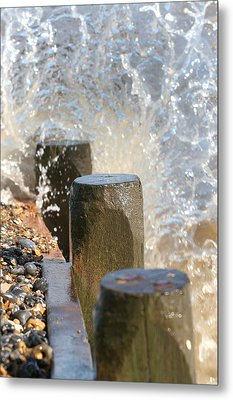 Breaking Point 2 Metal Print by Paul Lilley