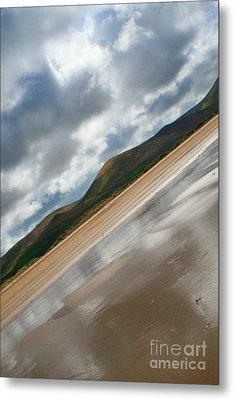 Breaking Through Ireland Metal Print by Jo Collins