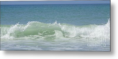 Breaking Waves Metal Print by Jeanne Forsythe