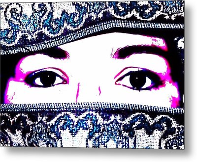 Breathtaking Eyes Metal Print by Michelle McPhillips