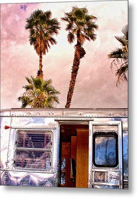 Breezy Palm Springs Metal Print by William Dey