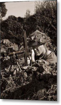 Bren Metal Print by Jason Green