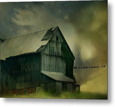 Storm Is Brewing Metal Print by Gothicrow Images