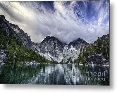 Brewing Storm Metal Print by Whidbey Island Photography