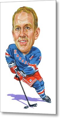 Brian Leetch Metal Print by Art