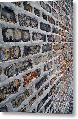 Brick Pattern-2 Metal Print by Gene Mark