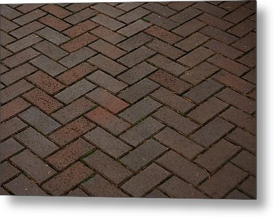 Brick Pattern Metal Print