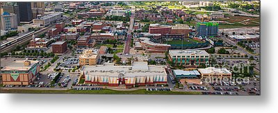 Bricktown Ballpark A Metal Print by Cooper Ross
