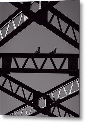 Bridge Abstract Metal Print