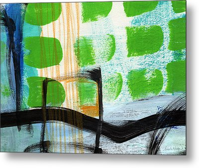 Bridge- Abstract Landscape Metal Print