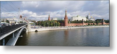 Bridge Across A River, Bolshoy Kamenny Metal Print