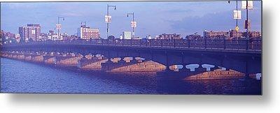 Bridge Across A River, Longfellow Metal Print by Panoramic Images