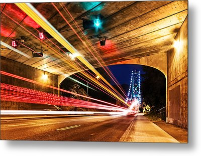 Bridge And Tunnel Metal Print by Alexis Birkill