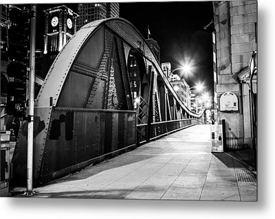 Bridge Arches Metal Print by Melinda Ledsome