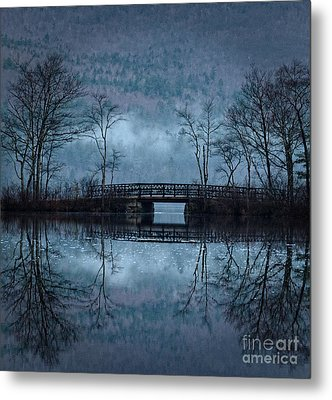Bridge At Chocorua Metal Print by Sharon Seaward