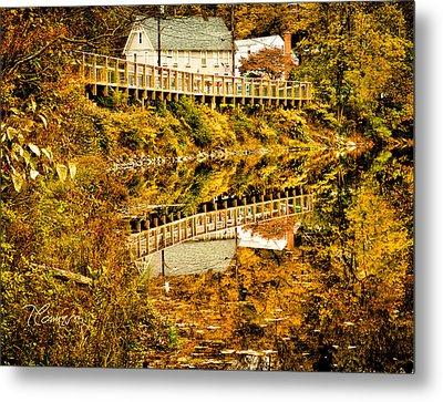 Bridge At C'ville Metal Print