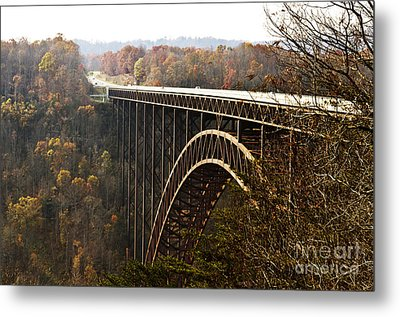 Bridge Metal Print by Blink Images