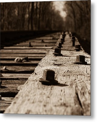 Bridge Bolts Photo Metal Print by Rick McKee