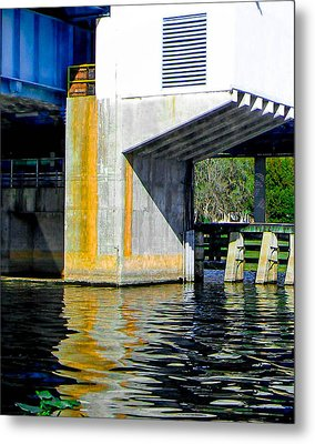 Bridge  Metal Print by Christy Usilton