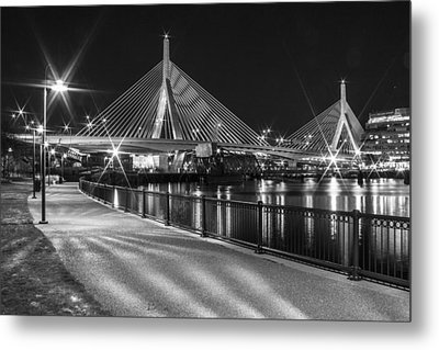 Bridge In Boston Metal Print