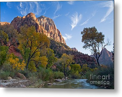 Bridge Mountain Metal Print