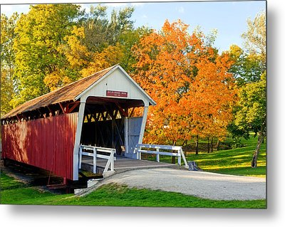 Bridge Of Madison County Metal Print