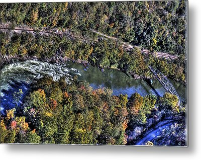 Bridge Over River Metal Print